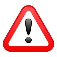 Bildquellennachweis: warning red triangular sign - lack-o keen - fotolia.com
