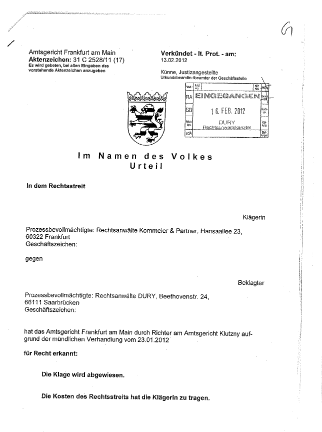 Filesharing_Abmahnung_Kornmeier_Klage